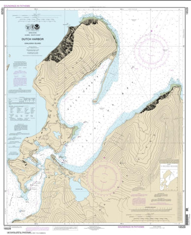 Buy map Dutch Harbor (16529-16) by NOAA
