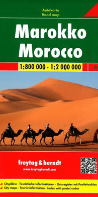 Buy map Morocco by Freytag-Berndt und Artaria