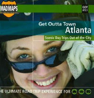Buy map Atlanta, Georgia, Get Outta Town by MAD Maps