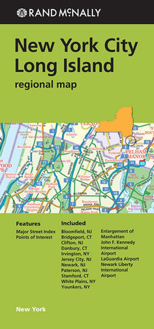 Buy map New York City and Long Island, New York Regional by Rand McNally