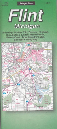Buy map Flint, Michigan by The Seeger Map Company Inc.