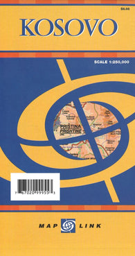 Buy map Kosovo by Map Link