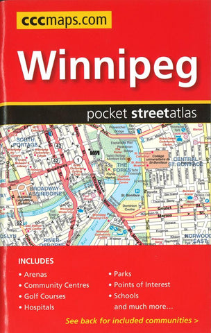 Buy map Winnipeg MB Pocket Road Atlas by Canadian Cartographics Corporation