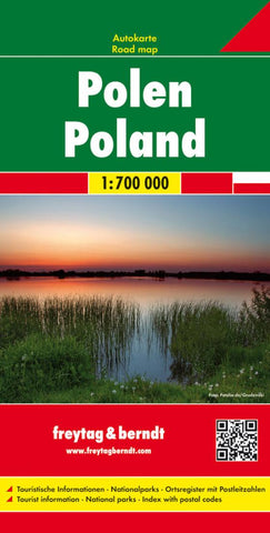 Buy map Poland, Road Map by Freytag-Berndt und Artaria