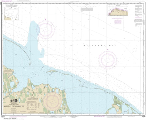 Buy map Scott Pt. to Tangent Pt. (16081-8) by NOAA