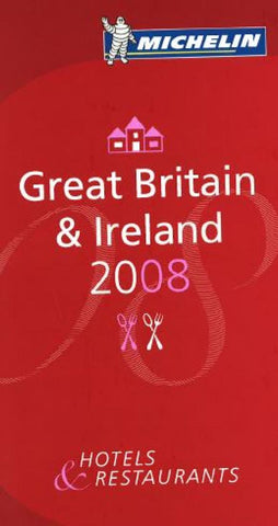 Buy map Great Britain and Ireland, Red Guide by Michelin Maps and Guides