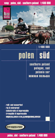 Buy map Poland, South by Reise Know-How Verlag