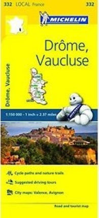 Buy map Drome/Vaucluse (332) by Michelin Maps and Guides