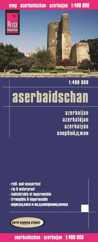Buy map Azerbaijan by Reise Know-How Verlag