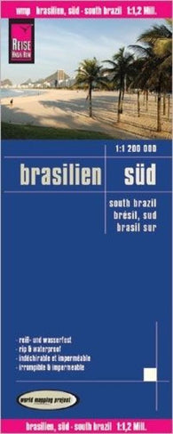 Buy map Brazil, Southern by Reise Know-How Verlag