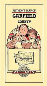 Buy map Garfield County, Washington by Pittmon Map Company