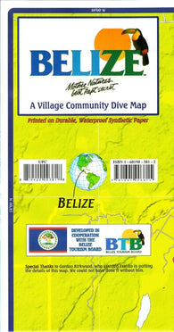Buy map Belize Official Dive Guide by Frankos Maps Ltd.