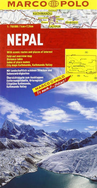 Buy map Nepal by Marco Polo Travel Publishing Ltd