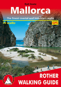 Buy map Mallorca, Rother Walking Guide by Rother Walking Guide, Bergverlag Rudolf Rother