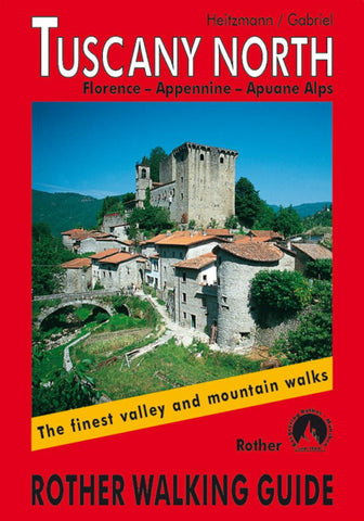 Buy map Tuscany, North, Rother Walking Guide by Rother Walking Guide, Bergverlag Rudolf Rother