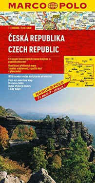 Buy map Czech Republic by Marco Polo Travel Publishing Ltd