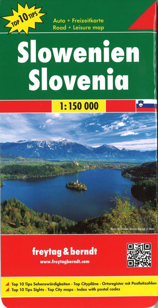Buy map Slovenia by Freytag-Berndt und Artaria
