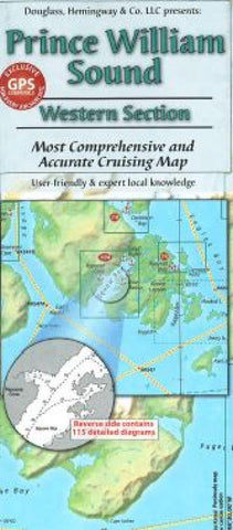 Buy map Prince William Sound, Alaska, Western Section by Fine Edge