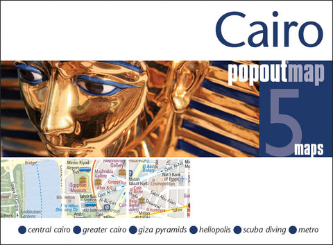 Buy map Cairo, Egypt, PopOut Map by PopOut Products, Compass Maps Ltd.
