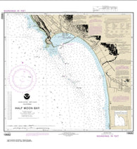 Buy map Half Moon Bay (18682-14) by NOAA