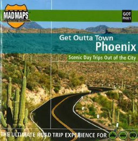 Buy map Phoenix, Arizona, Get Outta Town by MAD Maps