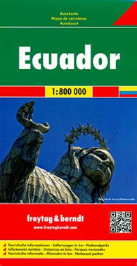 Buy map Ecuador and the Galapagos Road Map by Freytag-Berndt und Artaria