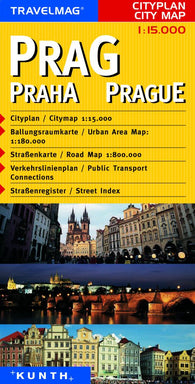 Buy map Prague, Czech Republic by Kunth Verlag