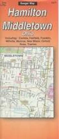 Buy map Butler County and Hamilton, Ohio by The Seeger Map Company Inc.