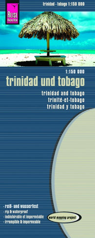 Buy map Trinidad and Tobago by Reise Know-How Verlag