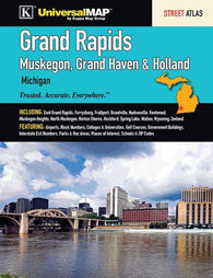 Buy map Grand Rapids Street Atlas (Muskegon, Grand Haven, & Holland) by Kappa Map Group