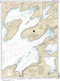 Buy map Chaumont, Henderson and Black River Bays; Sackets Harbor; Henderson Harbor; Chaumont Harbor (14811-17) by NOAA