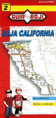 Buy map Baja California Norte, Mexico, State Map by Guia Roji