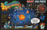 Buy map Dinos Solar System, 500 Piece Puzzle by Dino Maps