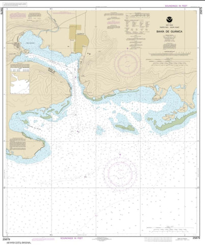 Buy map Bahia de Guanica (25679-10) by NOAA