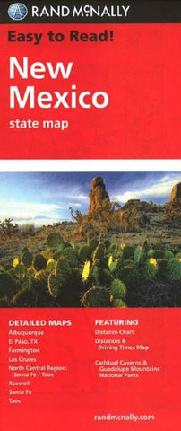 Buy map New Mexico by Rand McNally