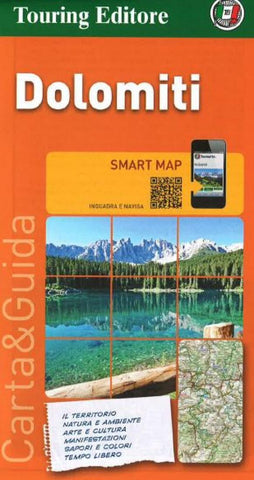 Buy map Dolomites, Tourist Map & Guide by Touring Club Italiano