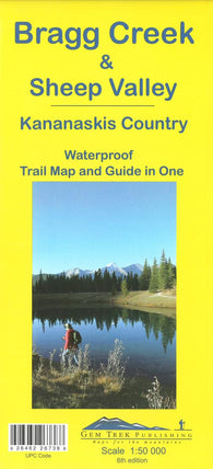 Buy map Bragg Creek,Sheep Valley and Kananaskis Country by Gem Trek