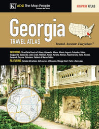 Buy map Georgia Travel Atlas by Kappa Map Group