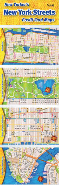 Buy map Credit Card Maps: New York City Streets Set by Opus Publishing