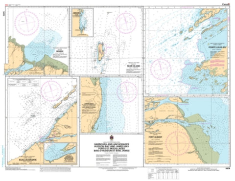Buy map Approches a/Approaches to Riviere Koksoak by Canadian Hydrographic Service