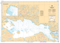 Buy map Baker Lake by Canadian Hydrographic Service