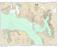 Buy map Thomas, Farragut, and Portage Bays,  Frederick Sound (17367-12) by NOAA