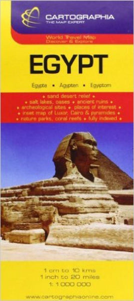 Buy map Egypt by Cartographia