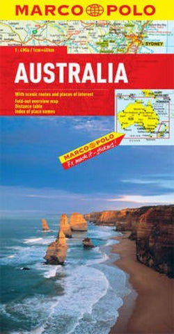Buy map Australia by Marco Polo Travel Publishing Ltd