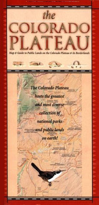 Buy map Colorado Plateau by Time Traveler Maps