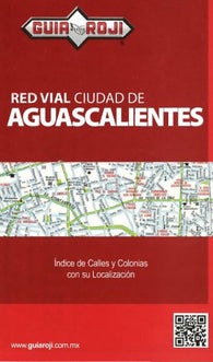 Buy map Aguascalientes, Mexico by Guia Roji