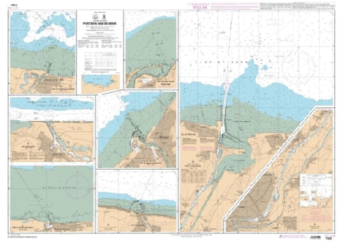 Buy map Port de Grandcamp - Maisy by SHOM