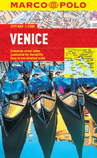 Buy map Venice, Italy by Marco Polo Travel Publishing Ltd