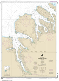 Buy map Uganik and Uyak Bays (16597-9) by NOAA