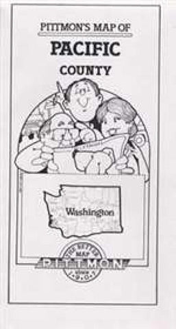 Buy map Pacific County, Washington by Pittmon Map Company